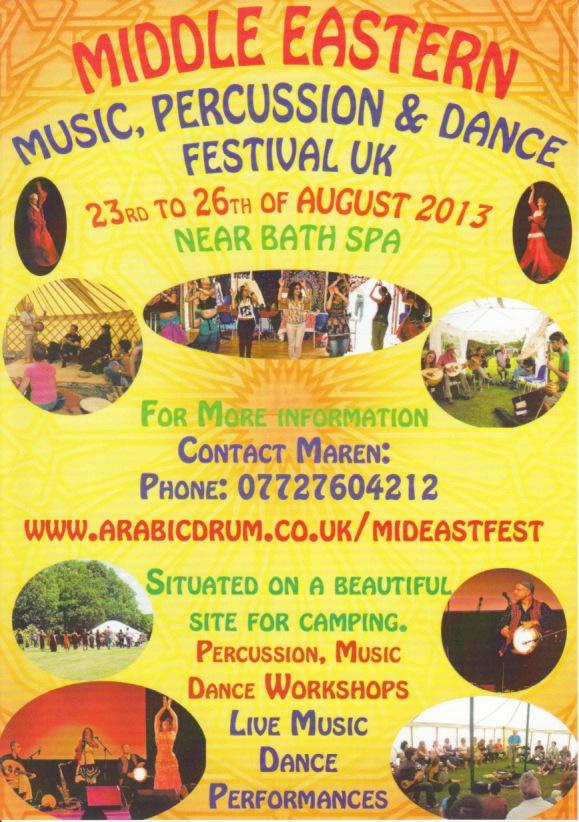 MidEastFest Flyer 2014